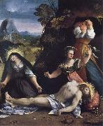 Dosso Dossi Lamentation over the Body of Christ oil painting picture wholesale