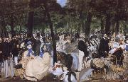 Edouard Manet Music in the Tuileries Garden oil painting picture wholesale