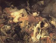 Eugene Delacroix Eugene Delacroix De kill of Sardanapalus oil painting picture wholesale