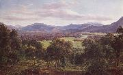 Eugene Guerard Spring in the valley of Mitta Mitta,with the Bogong Ranges in the distance oil painting picture wholesale