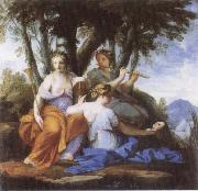 Eustache Le Sueur Eutepe and Thalia oil painting picture wholesale