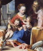 Federico Barocci The Madonna and Child with Saint Joseph and the Infant Baptist oil painting picture wholesale