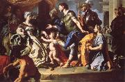 Francesco Solimena Dido Receiving Aeneas and Cupid Disguised as Ascanius oil painting picture wholesale