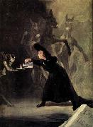 Francisco de goya y Lucientes The Bewitched Man oil painting picture wholesale