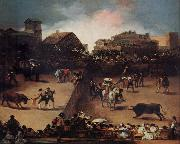 Francisco de goya y Lucientes The Bullifight oil painting picture wholesale