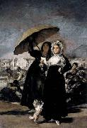 Francisco de goya y Lucientes Les Jeunes or the Young Ones oil painting picture wholesale