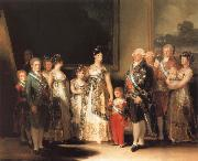 Francisco de goya y Lucientes Family of Charles IV oil painting picture wholesale