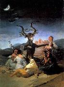 Francisco de goya y Lucientes Witches- Sabbath oil painting picture wholesale