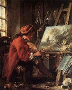 Francois Boucher Painter in his Studio oil painting picture wholesale