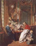 Francois Boucher An Afternoon Meal oil painting picture wholesale