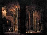 Francois-Marius Granet Crypt of San Martino ai Monti, Rome oil painting picture wholesale