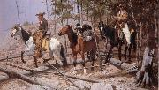Frederic Remington Prospecting for Cattle Range oil painting picture wholesale
