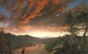 Frederick Edwin Church Dammerung in der Wildnis oil painting picture wholesale