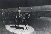 Frederick Remington Buffalo Bill in the Spotlight oil painting picture wholesale