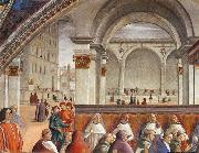 GHIRLANDAIO, Domenico Detail of Confirmation of the Rule oil painting picture wholesale