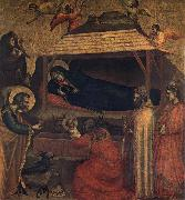 GIOTTO di Bondone Nativity,Adoration of the Shepherds and the Magi oil painting picture wholesale