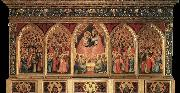 GIOTTO di Bondone Baroncelli Polyptych oil painting picture wholesale