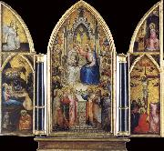 GIUSTO de  Menabuoi The Coronation of the Virgin among saints and Angels oil painting picture wholesale