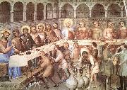 GIUSTO de  Menabuoi Marriage at Cana oil painting picture wholesale