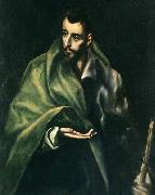 GRECO, El Apostle St James the Greater oil painting