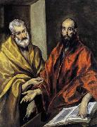GRECO, El Saints Peter and Paul oil painting reproduction