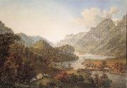 Gabriel Lory Pere Gone out of THE Aar of the Lake of Brienz oil painting picture wholesale