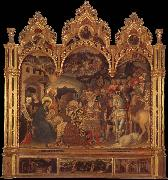 Gentile da Fabriano The adoration of the Ways oil painting picture wholesale