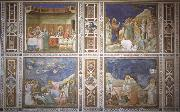 Giotto The wedding to Guns De arouse-king of Lazarus, De bewening of Christ and Noli me tangera oil painting picture wholesale