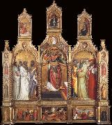 Giovanni dal ponte Polyptych of the Ascension of Saint John the Evangelist oil painting picture wholesale