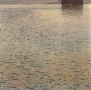 Gustav Klimt Island in the Attersee oil painting picture wholesale