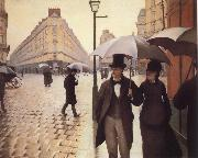 Gustave Caillebotte Paris Street,Rainy Day oil painting picture wholesale