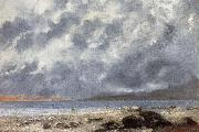 Gustave Courbet Beach Scene oil painting picture wholesale