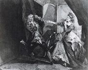 Henry Fuseli David Garrick and Hannah Pritchard as Macbeth and Lady Macbeth after the Murder of Duncan oil painting picture wholesale