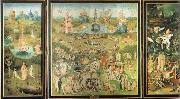 Heronymus Bosch Garden of Earthly Delights oil painting artist