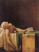 Jacques-Louis David The Death of Marat oil painting picture wholesale