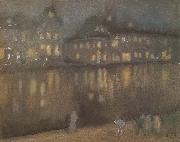 James Mcneill Whistler Grand Canal Amsterdam oil painting picture wholesale