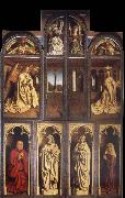 Jan Van Eyck The Ghent altar piece voltooid oil painting picture wholesale