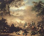 Jean Marc Nattier The Battle of Lesnaya oil painting picture wholesale