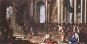 Johann Heinrich Schonfeldt The Oath of Hannibal oil painting picture wholesale