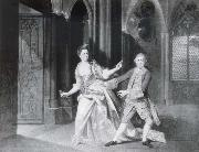 Johann Zoffany David Garrick as Macbeth and Hannah Pritchard as Lady Macbeth oil painting picture wholesale