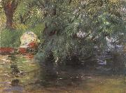 John Singer Sargent A Backwater Calcot Mill Near Reading oil painting picture wholesale