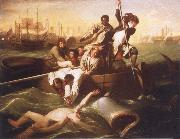 John Singleton Copley Waston and the Shark oil painting picture wholesale