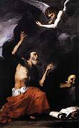 Jose de Ribera St Jerome and the Angel oil painting picture wholesale