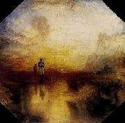 Joseph Mallord William Turner War, the Exile and the Rock Limpet oil painting picture wholesale