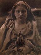 Julia Margaret Cameron Holy Agnes oil