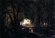 Karl Blechen The Woods near Spandau oil painting picture wholesale
