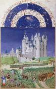 LIMBOURG brothers Les Tres Riches Heures du Duc de Berry oil painting picture wholesale