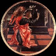 LIPPI, Filippino Gabriel from the Annunciation oil painting reproduction