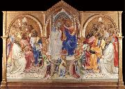 Lorenzo Monaco The Coronation of the Virgin oil painting picture wholesale