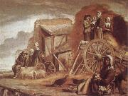 Louis Le Nain The Cart or Return from Haymaking oil painting picture wholesale